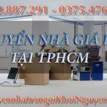 Dịch vụ chở hàng, chuyển nhà, văn phòng trọn gói tại TPHCM